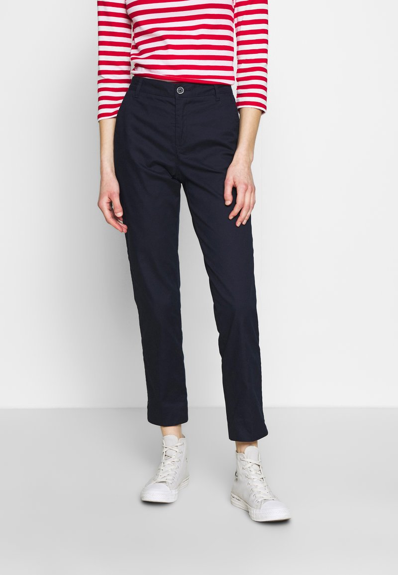 Benetton - TROUSERS - Chinos - navy