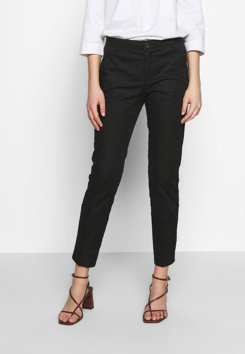Benetton - TROUSERS - Chinot - black
