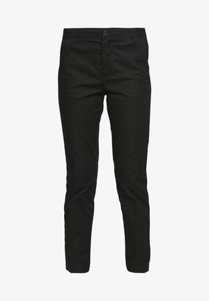 TROUSERS - Chino - black