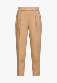 Benetton - TROUSERS - Tygbyxor - beige - 3
