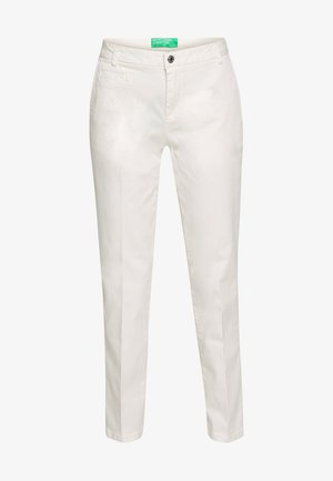 TROUSERS - Chinos - white