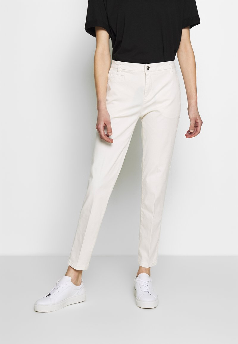 Benetton - TROUSERS - Chinos - white