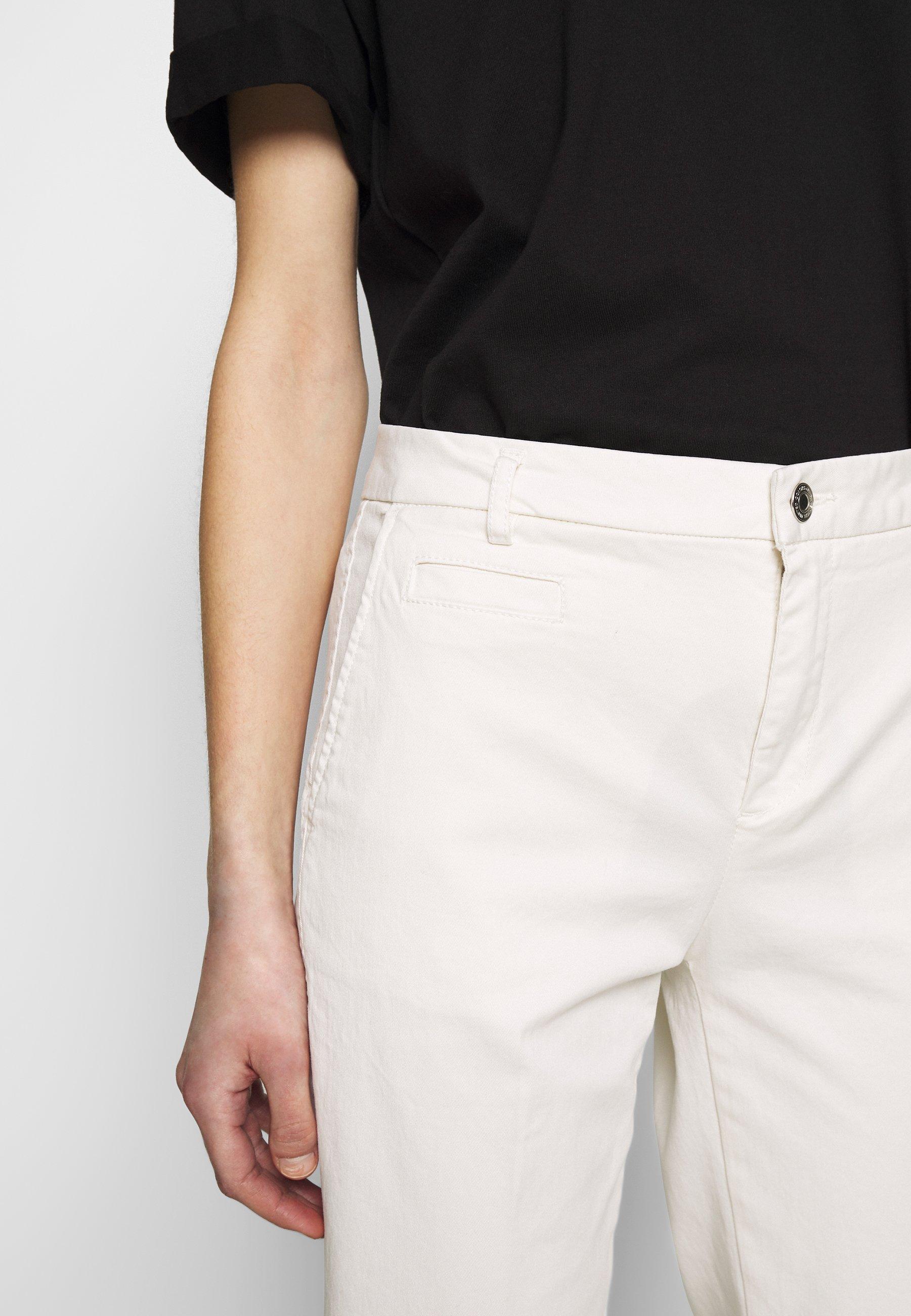 Benetton Trousers - Chinos White