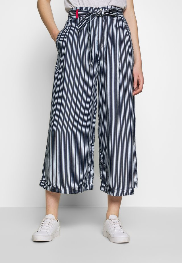 TROUSERS - Tygbyxor - blue
