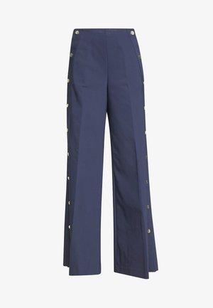 TROUSERS - Spodnie materiałowe - navy