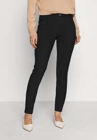 Benetton - TROUSERS - Legginsy - black - 0