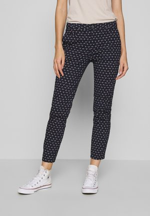 TROUSERS - Chinosy - navy