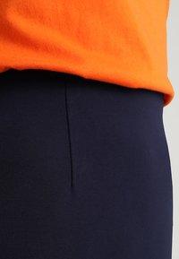 Benetton - PONTE SKIRT  - Pencil skirt - dark blue - 4