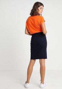 Benetton - PONTE SKIRT  - Pencil skirt - dark blue - 2