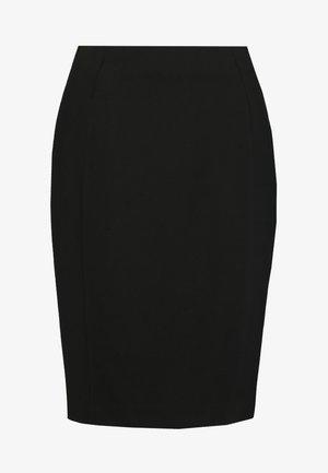 PENCIL BUSINESS SKIRT - Jupe crayon - black