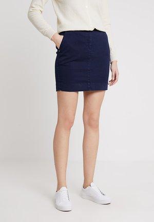 SKIRT - Denimová sukně - navy