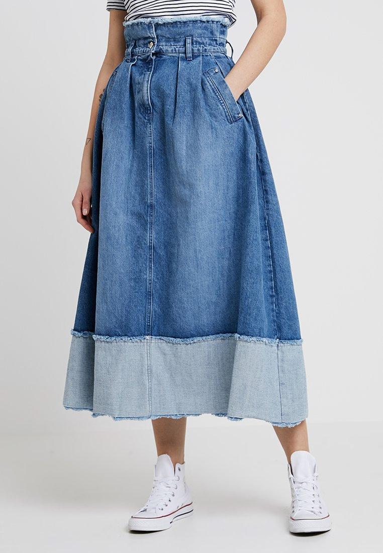 Długa spódnica blue