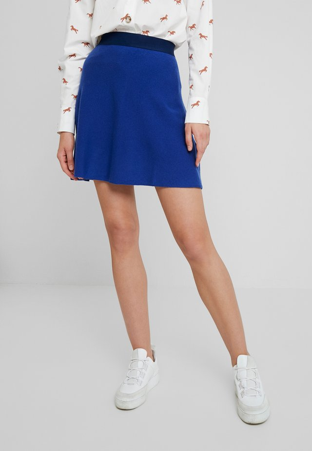 SKIRT - A-lijn rok - royal blue
