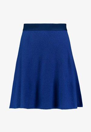 SKIRT - A-lijn rok - royal blue