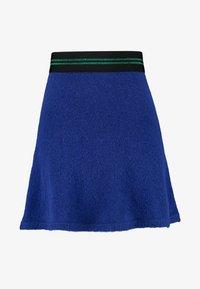 Benetton - FLARED SKIRT - A-linjekjol - blue - 3