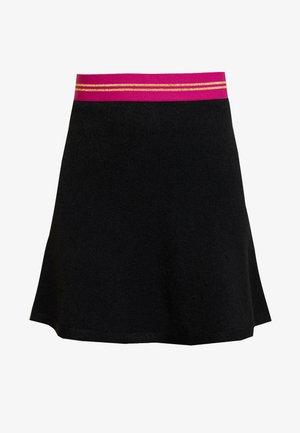 FLARED SKIRT - Áčková sukně - black