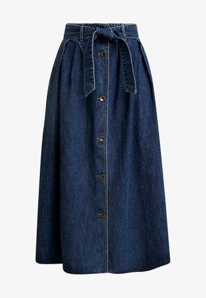 FLARED SKIRT - Áčková sukně - blue