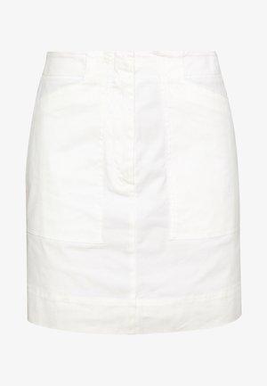 SKIRT - A-line skjørt - white