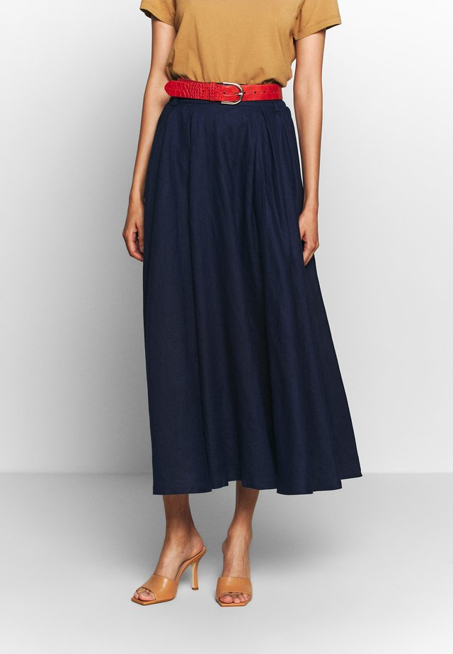 SKIRT - Gonna lunga - navy