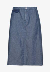Benetton - SKIRT - Spódnica trapezowa - blue - 3