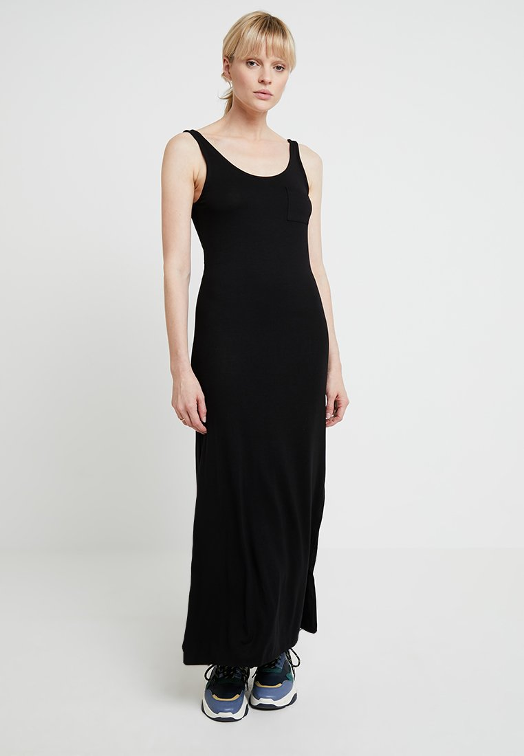 Benetton - SOLID DRESS - Maxiklänning - black