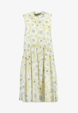 PRINTED DRESS - Korte jurk - yellow