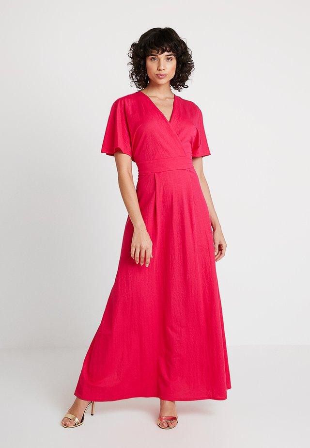 WRAP EFFECT DRESS - Maxi-jurk - pink