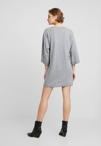 Benetton - SHIFT DRESS - Robe pull - grey - 3