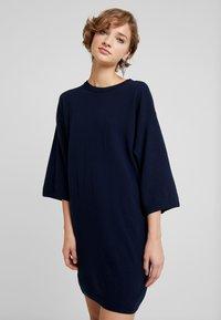Benetton - SHIFT DRESS - Jumper dress - navy - 0