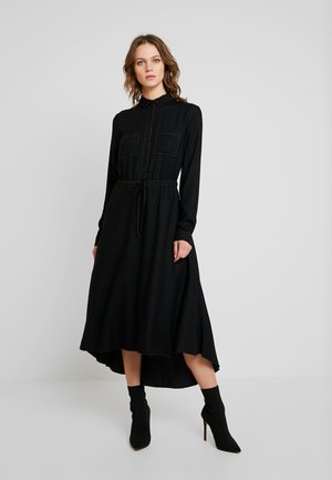 DRESS - Skjortklänning - black