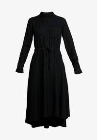 Benetton - DRESS - Abito a camicia - black - 5