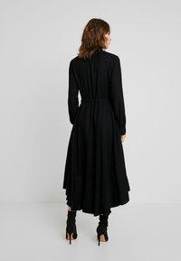 Benetton - DRESS - Abito a camicia - black - 3