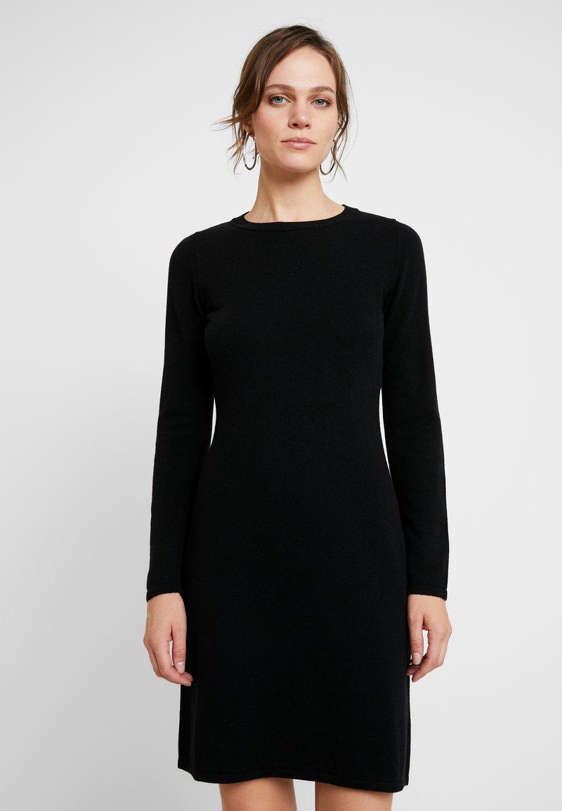 Benetton - DRESS - Etuikjole - black