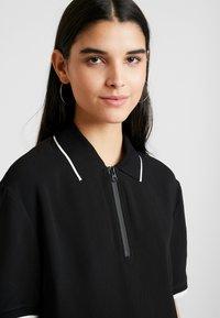 Benetton - DRESS - Shirt dress - black - 4