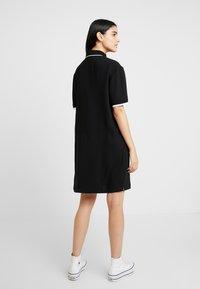 Benetton - DRESS - Shirt dress - black - 2