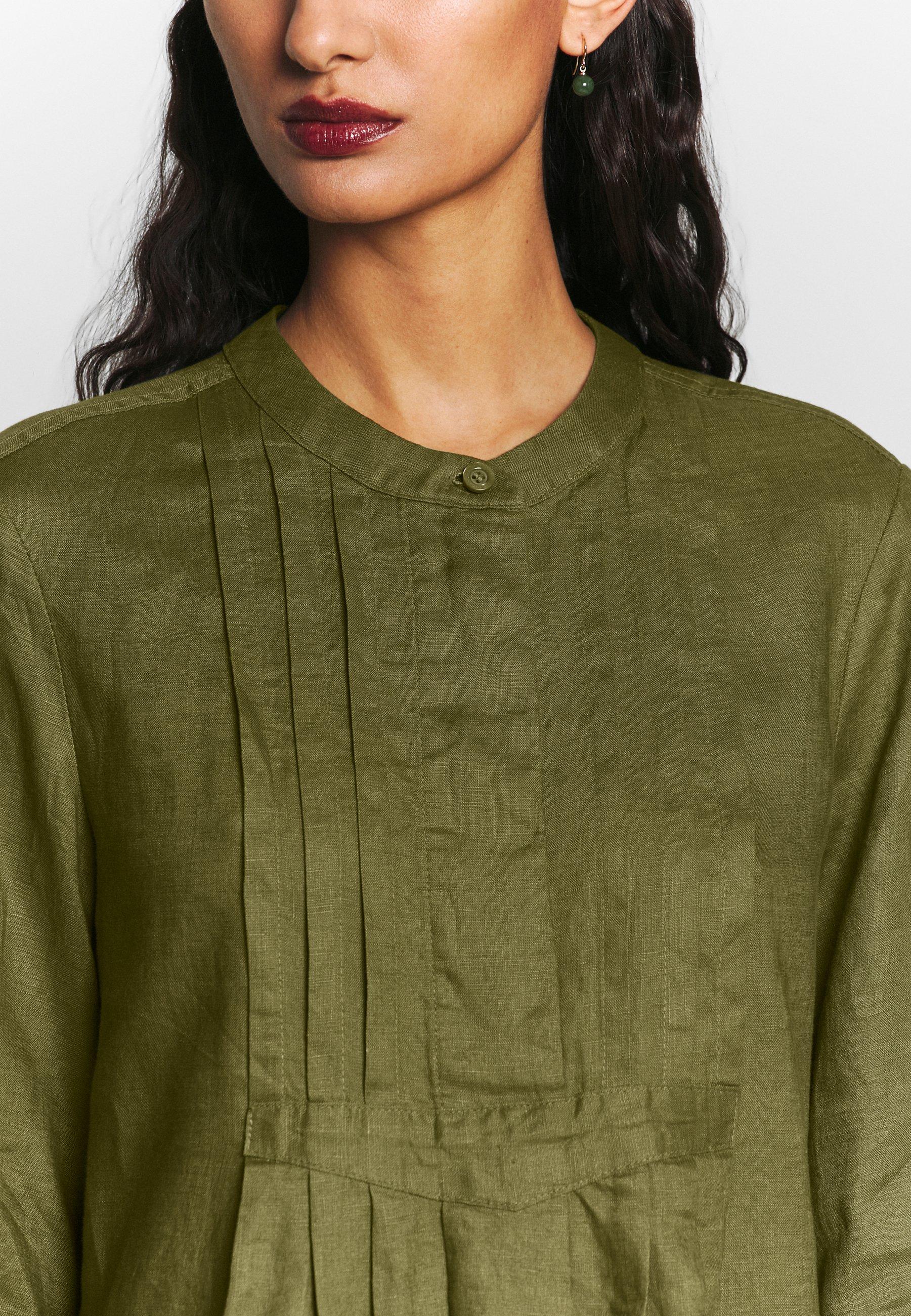 Benetton Dress - Shirt Khaki
