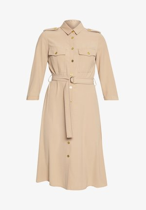 DRESS - Robe chemise - beige