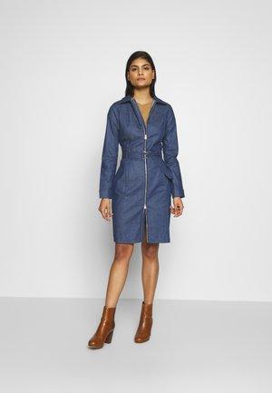 Sukienka jeansowa - blue