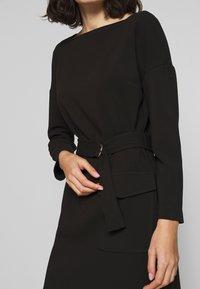 Benetton - DRESS - Shift dress - black - 4