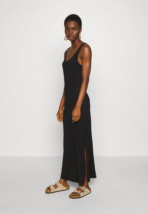 DRESS - Maxi-jurk - black