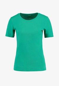 Benetton - ROUND NECK TEE - T-shirts - bright green - 4