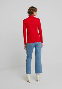 Benetton - TURTLE NECK - Long sleeved top - red - 3