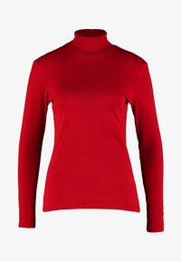 Benetton - TURTLE NECK - Long sleeved top - red - 5
