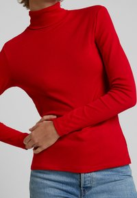 Benetton - TURTLE NECK - Long sleeved top - red - 6