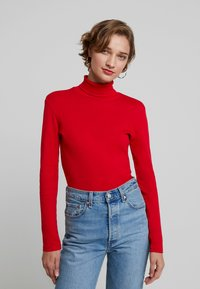 Benetton - TURTLE NECK - Long sleeved top - red - 0