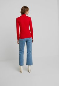 Benetton - TURTLE NECK - Long sleeved top - red - 2