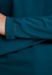 Benetton - TURTLE NECK - Langærmede T-shirts - forest green - 5