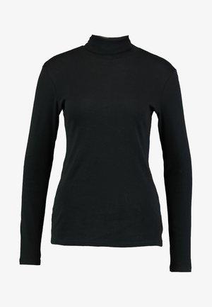 TURTLE NECK - Top sdlouhým rukávem - black