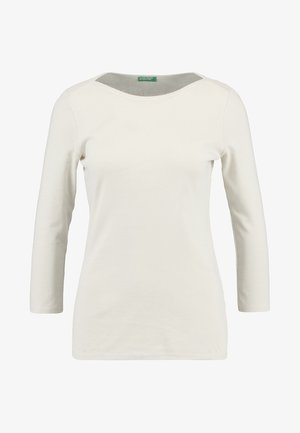 3/4 SLEEVE BOATNECK TEE - Topper langermet - grey