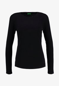 Benetton - ROUND NECK - Topper langermet - black